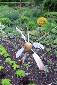 potato scarecrow