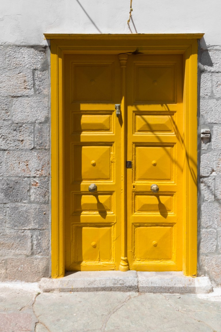 Yellow Door_Greece