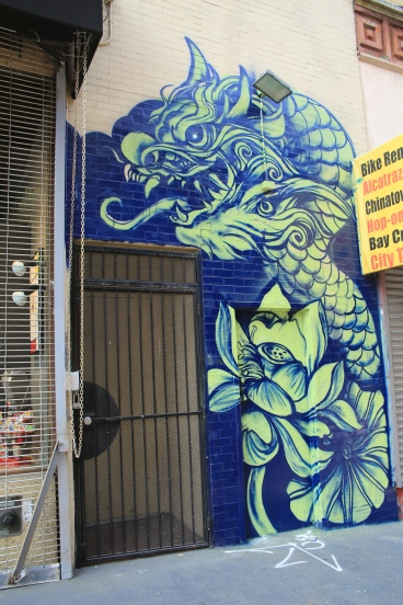 Mural in China Town